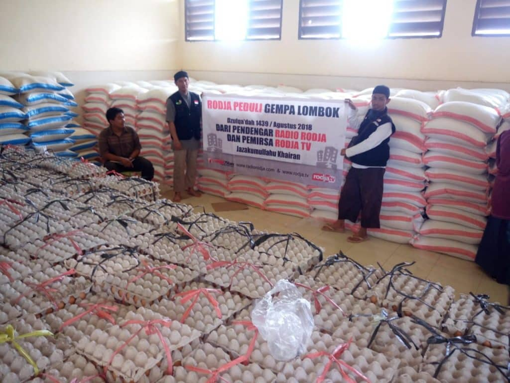 Rodja Peduli Lombok