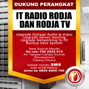 Support Perangkat IT Radio Rodja 756 AM - RodjaTV