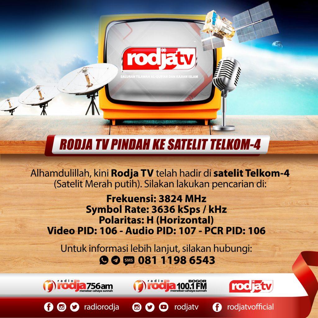 rodja tv pindah satelit